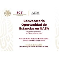 Convocatoria Oportunidad de Estancias en NASA