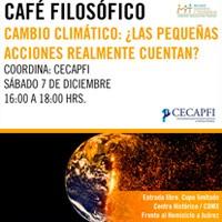 Cambio Climático - Café Filosófico