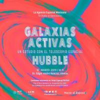 Galaxias Activas, un estudio con el telescopio espacial Hubble