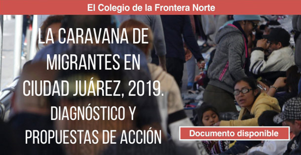 2019may20 banner docum caravana migrantes en cd juarez